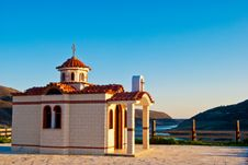 Free The Road To The Greek Orthodox Church Royalty Free Stock Photos - 9458288