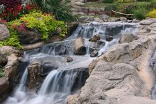 Free Silky Waterfall Stock Image - 9459081