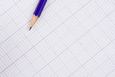Free Pencil And Paper For The Drawing. Stock Photo - 9459290