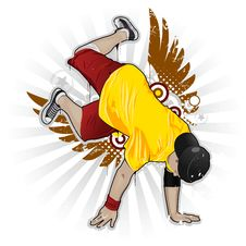 Free Breakdancer Royalty Free Stock Image - 9459476