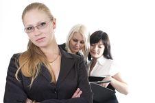 Free Business Woman Team Stock Photos - 9459503