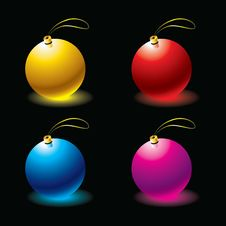 Free Christmas Balls Stock Photos - 9459763