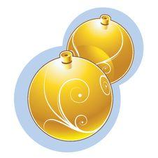 Free Christmas Balls Stock Photo - 9459780