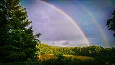 Free Double Rainbow Stock Photos - 94536693