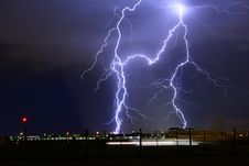Free Thunderstorm In City Stock Photo - 94581000
