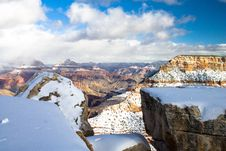 Free Snow Over Gran Canyon Stock Photo - 94581030