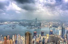 Free Clouds Over Hong Kong Royalty Free Stock Images - 94581169