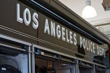 Free Los Angeles Police Department Sign Royalty Free Stock Photos - 94581258