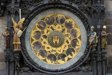 Free Astronomical Clock Prague Czech Royalty Free Stock Photo - 94581275