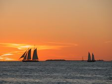 Free Sunset Malory Square Key West Royalty Free Stock Photography - 94581307