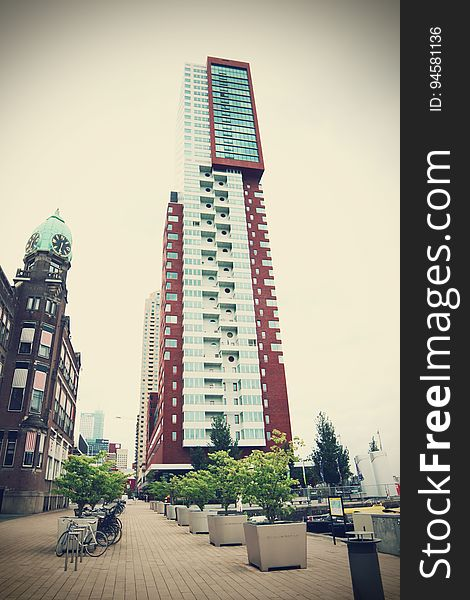 Montevideo tower in Rotterdam