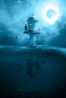 Free Lighthouse, Tower, Sea, Atmosphere Stock Image - 94594731