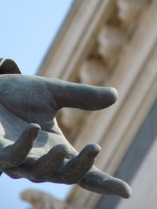 Free Sculpture, Hand, Close Up, Sky Royalty Free Stock Images - 94596079