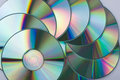 Free Multicolored CD Disks Royalty Free Stock Image - 9461296