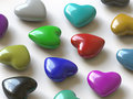 Free Heart Collection - Push Here Royalty Free Stock Image - 9469006