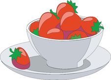 Fruit Cup 01 Stock Photo