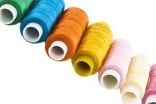 Free Many Colorful Threads Stock Photography - 9460942