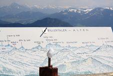 Free Zillertaler Alpen Royalty Free Stock Photography - 9461147