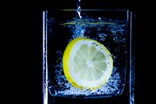 Free Citron Splash Stock Photos - 9461403