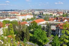 Free Hundred-spired Prague Royalty Free Stock Image - 9461956