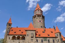 Free Stronghold Bouzov, Czech Republic Royalty Free Stock Photo - 9461965