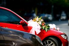 Free Wedding Car Stock Image - 9463141