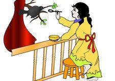 Free Bird Eating Food Stock Photos - 9463203