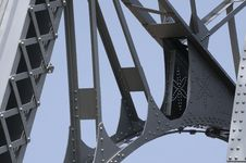 Lift Bridge Royalty Free Stock Image