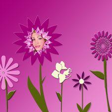 Free Flower Girl Stock Images - 9464734