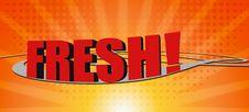 Free Fresh Text Stock Photo - 9465680