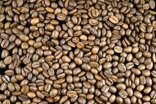 Free Background From Coffee Beans Stock Image - 9465711