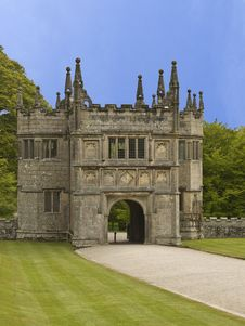 Free Lanhydrock Gate House Stock Image - 9465821