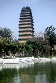Pagoda,China Stock Photo