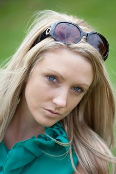 Free Young Woman In Sunglasses Stock Photo - 9467370