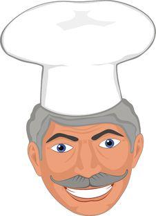 Free Chef Smile Royalty Free Stock Photos - 9467488