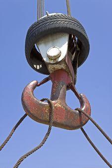 Free Hook Of A Crane Stock Image - 9467681
