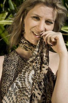 Pretty Blond Brazilian Girl Stock Image