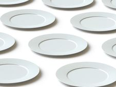 Tableware Collection - Push Here Stock Photos