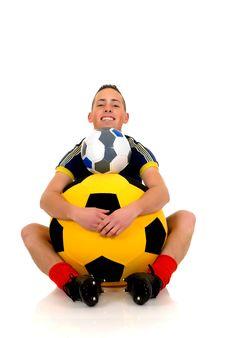 Play Soccer, Football Stock Photography