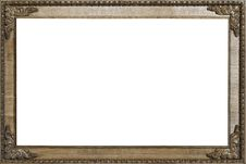 Free Carved Oak Picture Frame 3:2 Royalty Free Stock Images - 9469999