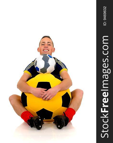 Play soccer, football