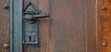 Free Black Metal Door Lever Royalty Free Stock Photos - 94642388