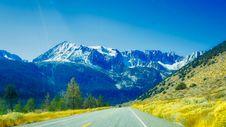Free Road Through The Alps Royalty Free Stock Photo - 94642405