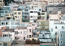 Free Colorful Low Rise Apartment Buildings Stock Photos - 94642413