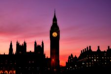 Free Elizabeth Tower And Big Ben Stock Photography - 94642452