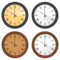 Free Wall Clock Vector Stock Photos - 9477113