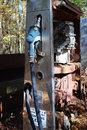 Free Abandon Gas Pump Stock Image - 9477301