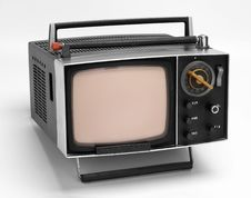Free OLD TV 2 Royalty Free Stock Photography - 9470047