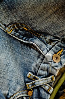 Free Blue Jeans Royalty Free Stock Images - 9470719