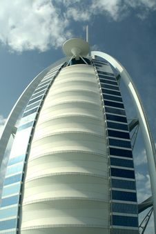 Free Burj Al Arab Royalty Free Stock Photography - 9471247